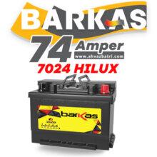 باطری ۷۴R آمپر بلند باراکاس سپاهان باتری-HiLUX 7024
