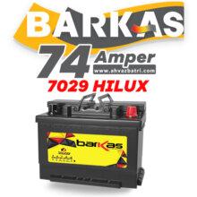 باطری ۷۴L آمپر بلند باراکاس سپاهان باتری-HiLUX 7029