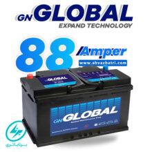 باطری ۸۸ آمپر گلوبال برنا باتری