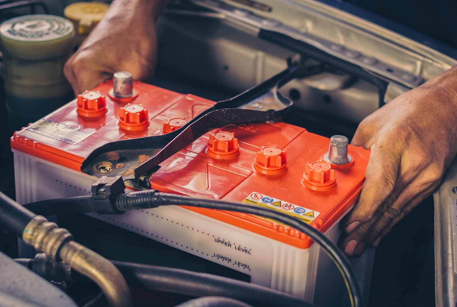 car battery work